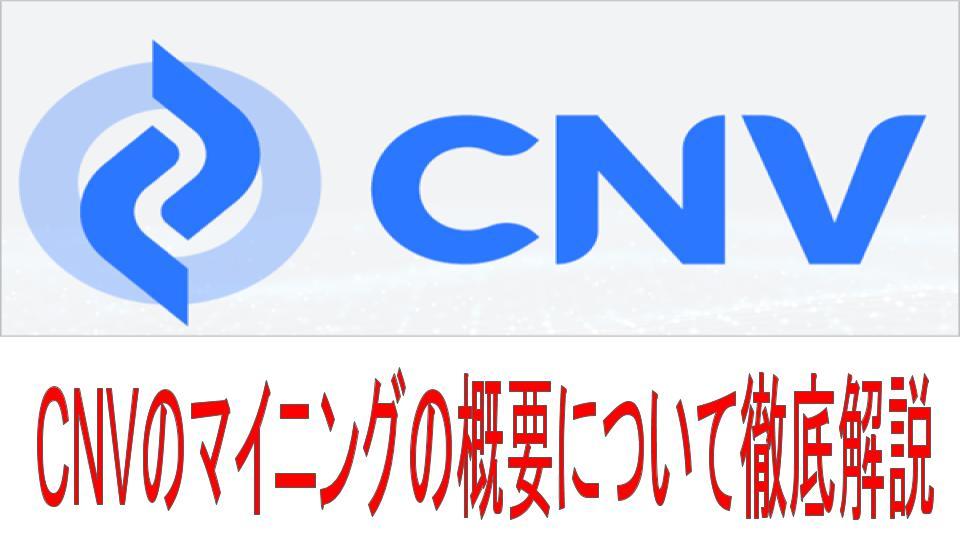 cnvの概要についての説明